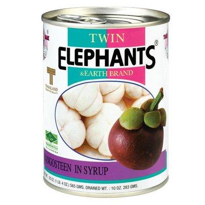 【水果罐頭】泰國 雙象地球 糖水山竹(565ml/罐) ─ 942