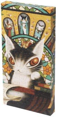 日本正版拼圖 Wachifield   瓦奇斐爾德 達洋貓 120片塑膠拼圖,2304-05