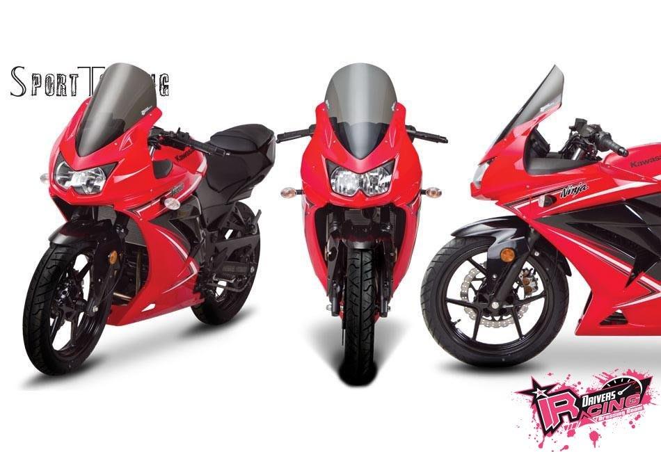 ♚賽車手的試衣間♚ Zero Gravity® Kawasaki Ninja 250R 08-12 ST款 風鏡