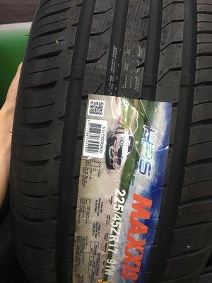 三重近國道 ~佳林輪胎~ 瑪吉斯 HP5 225/45/17 四條合購/條 四條含3D定位 另售 SP9 ZE914
