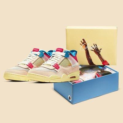 【Basa Sneaker】Jordan 4 Retro Union Guava Ice DC9533-800 粉紅藍