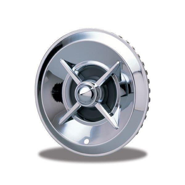 (I LOVE樂多)MOONEYES經典古典造型光盤 汽車輪圈蓋 14吋15吋 HOT ROD(不鏽鋼鍍鉻材質)
