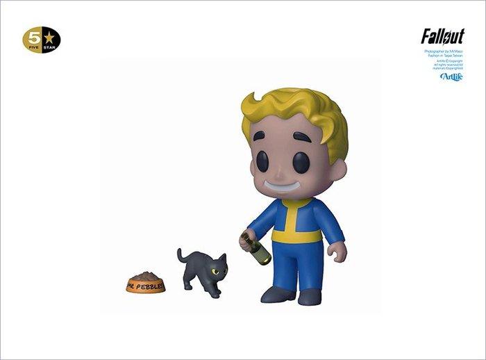 Artlife @ FunKo 5 Star Fallout Vault Boy Luck 異塵餘生 幸運男孩 貓咪