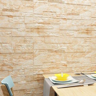 佩奇壁纸抖音熱銷自粘加厚防霉3d立體墻貼背景客廳文化石裝飾貼畫臥室壁紙小猪佩奇