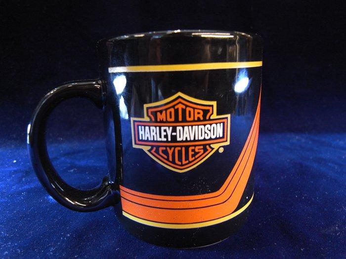 *阿威的藏寶箱‧*【瓷器 哈雷馬克杯 絕版 U.S.A *HARLEY--DAVIDSON*特價 】品相優 值得收藏