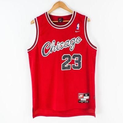 【品牌競區】Nike NBA / 復古 /  芝加哥公牛 / 麥可喬丹 / 籃球背心 / M號 ~ 5H128