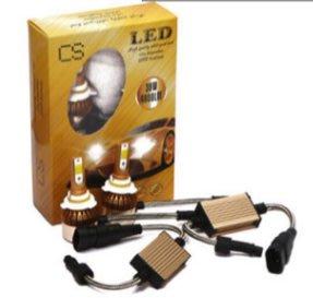 C6 雙色溫 LED大燈 H1H3H4H7H8H9H11汽車9005機車9006霧燈頭燈880車燈881魚眼大燈燈泡