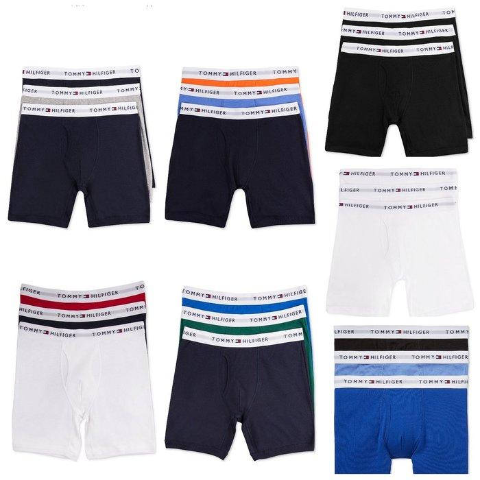 Tommy Hilfiger  男生四角內褲三件組 尺寸S-2XL 我愛麋鹿 歐美精品代購 保證真品