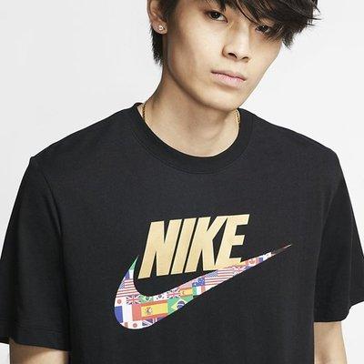 【E.P】Nike NSW TEE PREHEAT HBR 男裝 運動休閒 短袖T恤 黑版 CT6551-010