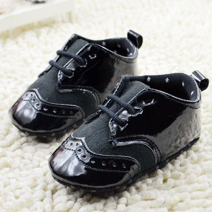 寶貝倉庫~時尚紳士鞋~學步鞋~布底鞋~寶寶鞋~嬰兒鞋~防滑鞋~幼兒鞋~學走鞋~綁帶設計~彌月送禮
