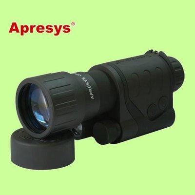 5Cgo【權宇】美國 Apresys 紅外微光夜視儀單筒 5x50 夜視望遠鏡 21-0550 含稅會員扣5%