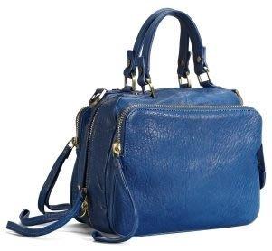 破盤清倉大降價!全新美國Kennth Cole 藍色年輕款手提包斜揹包側揹包,美國原價七千多元!無底價!本商品免運費!