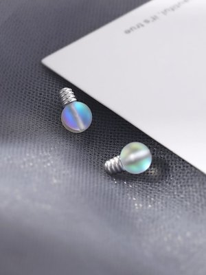 汐夏summer·小眾設計燈泡耳釘2120新款潮女純銀耳環個性簡約可愛精致小巧網紅