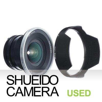 集英堂写真機【3個月保固】極上 ZEISS DISTAGON T* 18mm F3.5 鏡頭 NIKON用 14817