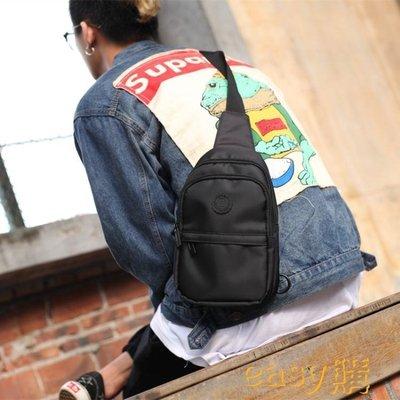 新款男包潮牌日系胸包單肩斜挎包牛津布小包護外防水韓版小腰包