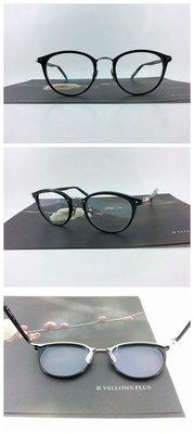 YELLOWS PLUS   #日本手工眼鏡 #手工眼鏡-NICKY