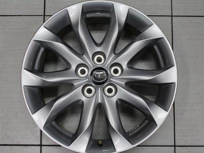 ~三重長鑫車業~極新 日本製 正 MAZDA 3 馬三 原廠 高亮銀 5孔 114.3 18吋鋁圈 可搭配輪胎另有優惠