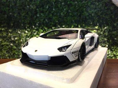 1/18 AUTOart LB-WORKS Lamborghini Aventador White 79105【MGM】
