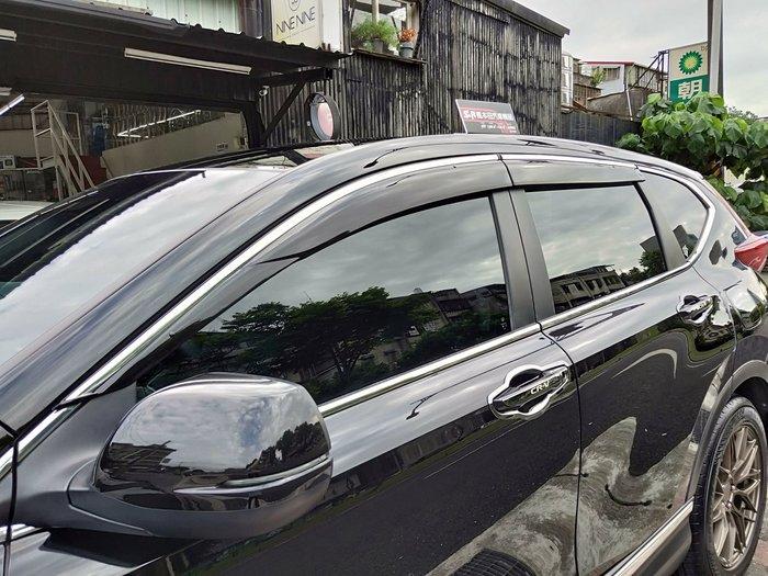 Honda CRV5 CRV 五代 MIT 晴雨窗