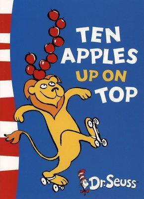 *小貝比的家*TEN APPLES UP ON TOP/平裝/3~6歲