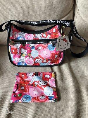 Hello Kitty x LeSportsac 聯名包  限量 全新