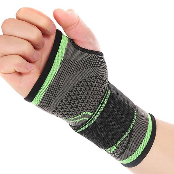 【八字繃帶護手腕~單只】 纏繞 加壓 繃帶 保護 保護 手腕 跑步 健身 籃球 足球 自行車 登山 運動 C49-03