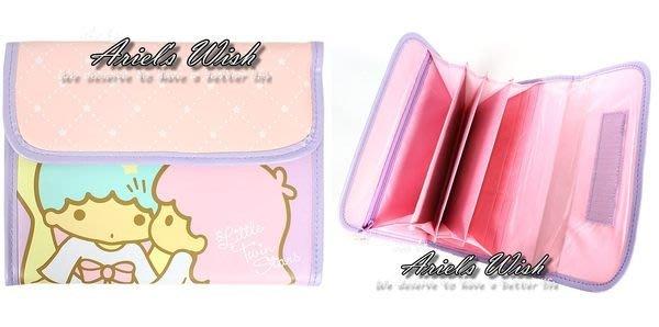 Ariel's Wish-日本sanrio雙子星kikilala媽媽包媽媽手冊存摺證件提款卡護照套收納袋存摺套手帳本現貨