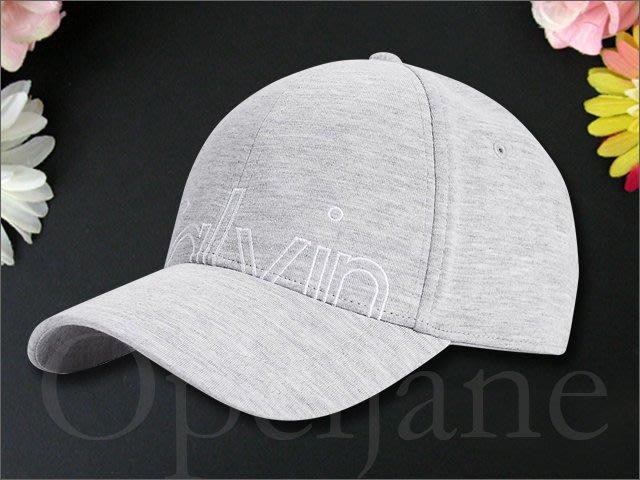Calvin Klein Hat 卡文克萊空心LOGO CK灰色棒球帽 鴨舌帽 防曬 遮陽帽高爾夫球帽 愛Coach包包