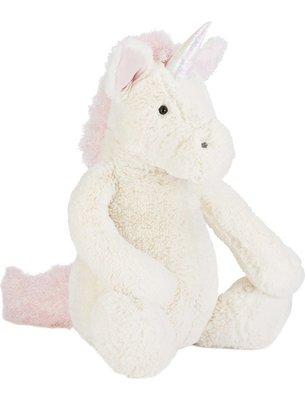 [小珊瑚]英國購入 JELLYCAT Bashful Unicorn 獨角獸 Really big 絨毛安撫玩偶67cm