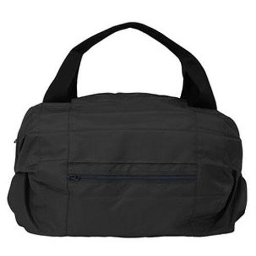 【東京速購】Shupatto 環保購物袋 大容量 輕巧 秒收 折疊購物包 波士頓包 手提 肩背包 行李箱旅行包 - 黑色