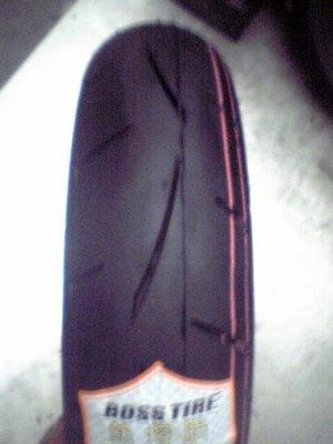 台灣小霸王 BOSS TIRE 霸道全熱熔胎 B101 120 70 12 裝到好1350元 媲美MC31