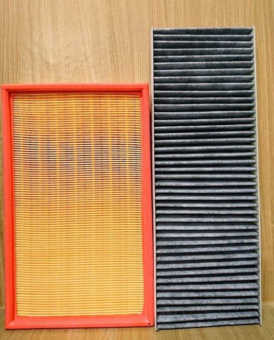 (C+西加小站)OPEL VECTRA B 副廠 引擎室(  空氣芯 + 冷氣濾網 ) 空氣濾網  冷氣濾芯