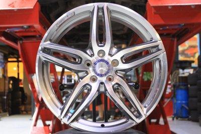 【 成佳汽車 】BENZ W213 正AMG19吋前後配鋁圈 極新 w205 W212 W213 W218 W222