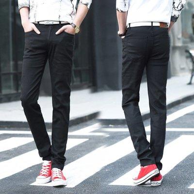 新款男式夏季休閒彈力小腳褲 男休閒長褲子時尚修身潮 Y802