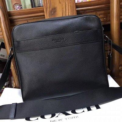 【全球精品代購鋪】COACH 24876 時尚簡約方形包 斜背包 公事包 購美國代購Outlet專場 可團購
