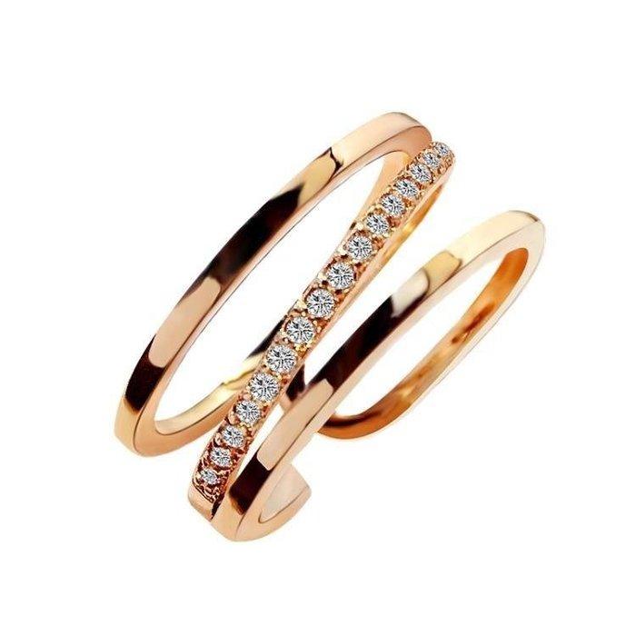 麥麥部落 開口可調節正韓戒指女個性百搭復古冷淡風食指環裝飾品MB9D8