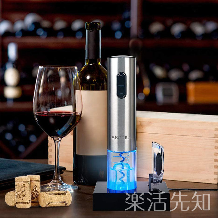 【樂活先知】『代購』美國  Secura Electric  自動紅酒開罐器
