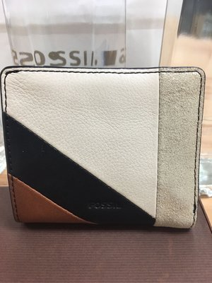 FOSSIL/皮夾/牛皮/全新正品