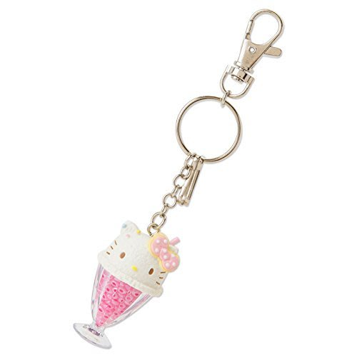代購現貨 日本三麗鷗 kitty/雙子星 冰沙杯造型鑰匙圈\吊飾