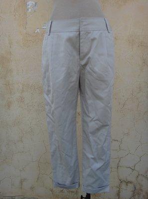jacob00765100 ~ 正品 CLEAR IMPRESSION 駝色 反摺九分褲 size: 2