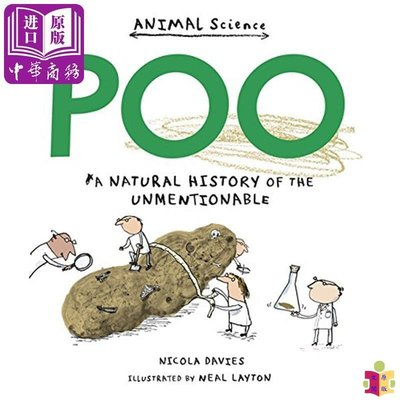 [文閲原版]你不敢說的大便故事一籮筐 英文原版 Poo 兒童百科 精品繪本 Neal Layton 知識科普 6-12歲