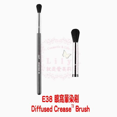 【美國現貨】 E38 Diffused Crease™ Brush 眼窩暈染刷(銀環)