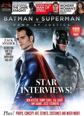 【布魯樂】《運損折價中》蝙蝠俠對超人:正義曙光 官方授權電影雜誌