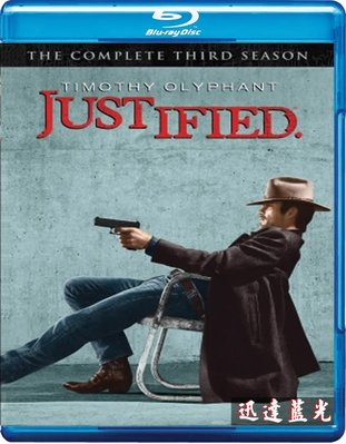BD藍光25G任選5套999含運-T801火線警探 第三季 Justified Season 3(2012)(2BD)