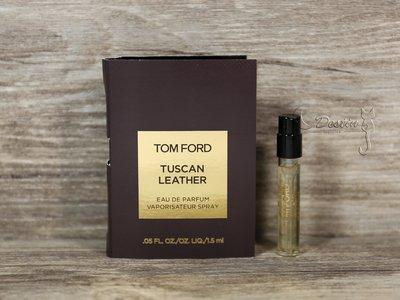Tom Ford 托斯卡尼皮革 Tuscan Leather 中性 淡香精 1.5ML 全新 現貨 可噴式 試管香水
