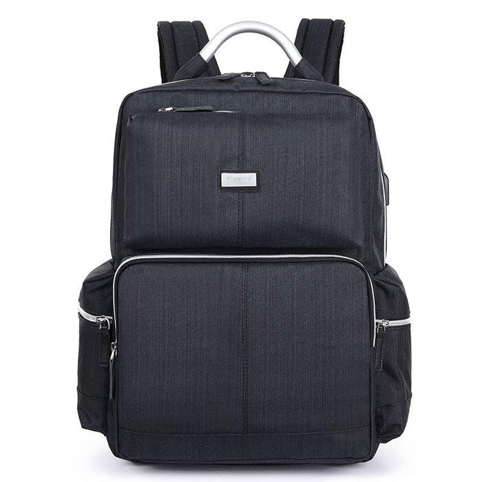 (W.I.B)WB1208BK 黑色 15.6吋經典時尚電腦背包