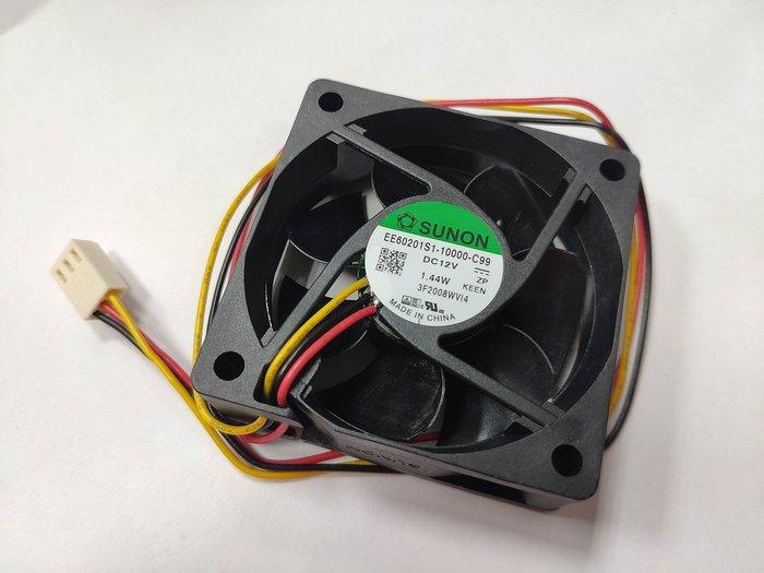 小白的生活工場*SUNON EE60201S1-10000-C99 60*60*20mm厚/6公分風扇