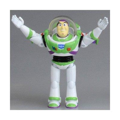 【HAHA小站】DS86414 麗嬰 TAKARA TOMY 玩具總動員 人偶 - 巴斯光年 可動玩偶 收藏 公仔