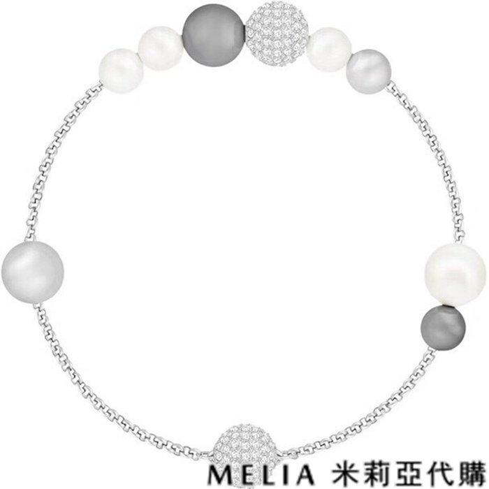 Melia 米莉亞代購 0305 19ss Swarovski 施華洛世奇 RYS系列 飾品 手鍊 典雅迷人白金