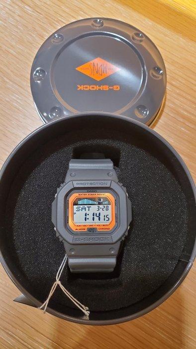 CASIO G-SHOCK x Madness 手錶 紀念錶  GLX-5600MAD19-1 余文樂 六叔 Lok666 衝浪 潮汐 黑橘色